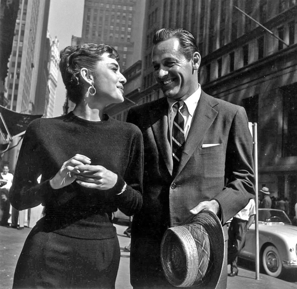 WILLIAM HOLDEN & AUDREY HEPBURN