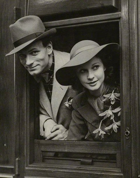 Laurence Olivier and Vivien Leigh, 1937