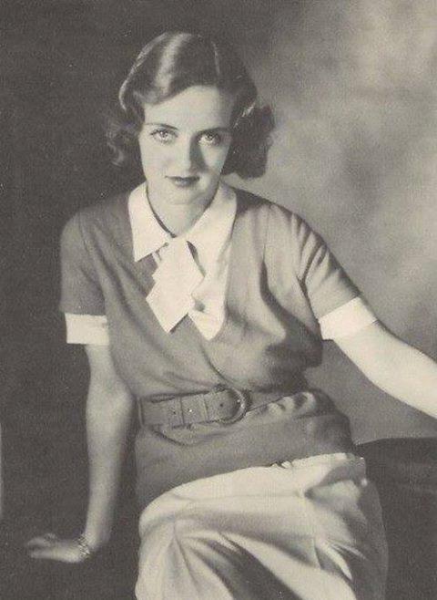 Young Bette Davis -1928