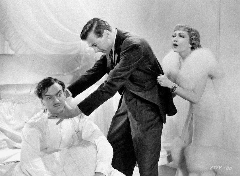 David Niven, Gary Cooper & Claudette Colbert