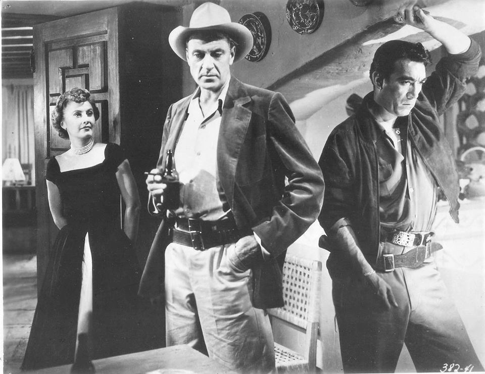 Barbara Stanwyck, Gary Cooper & Anthony Quinn