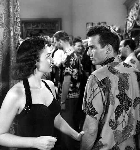 MONTGOMERY CLIFT & DONNA REED