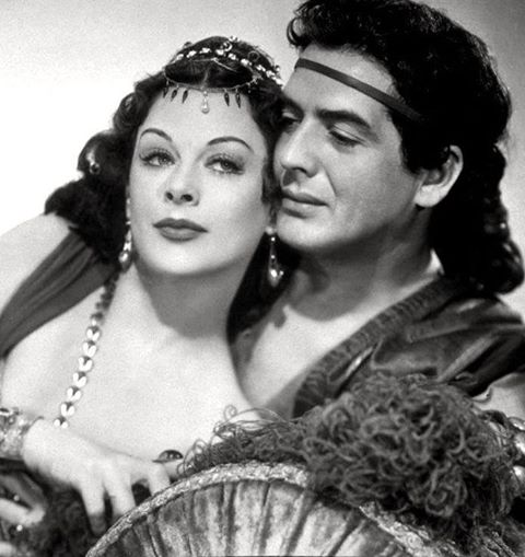 VICTOR MATURE & HEDY LAMARR
