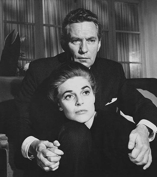 Peter Finch & Anne Bancroft