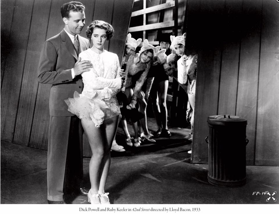 Ruby keeler and Dick Powell