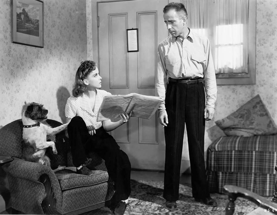 Ida Lupino & Humphrey Bogart