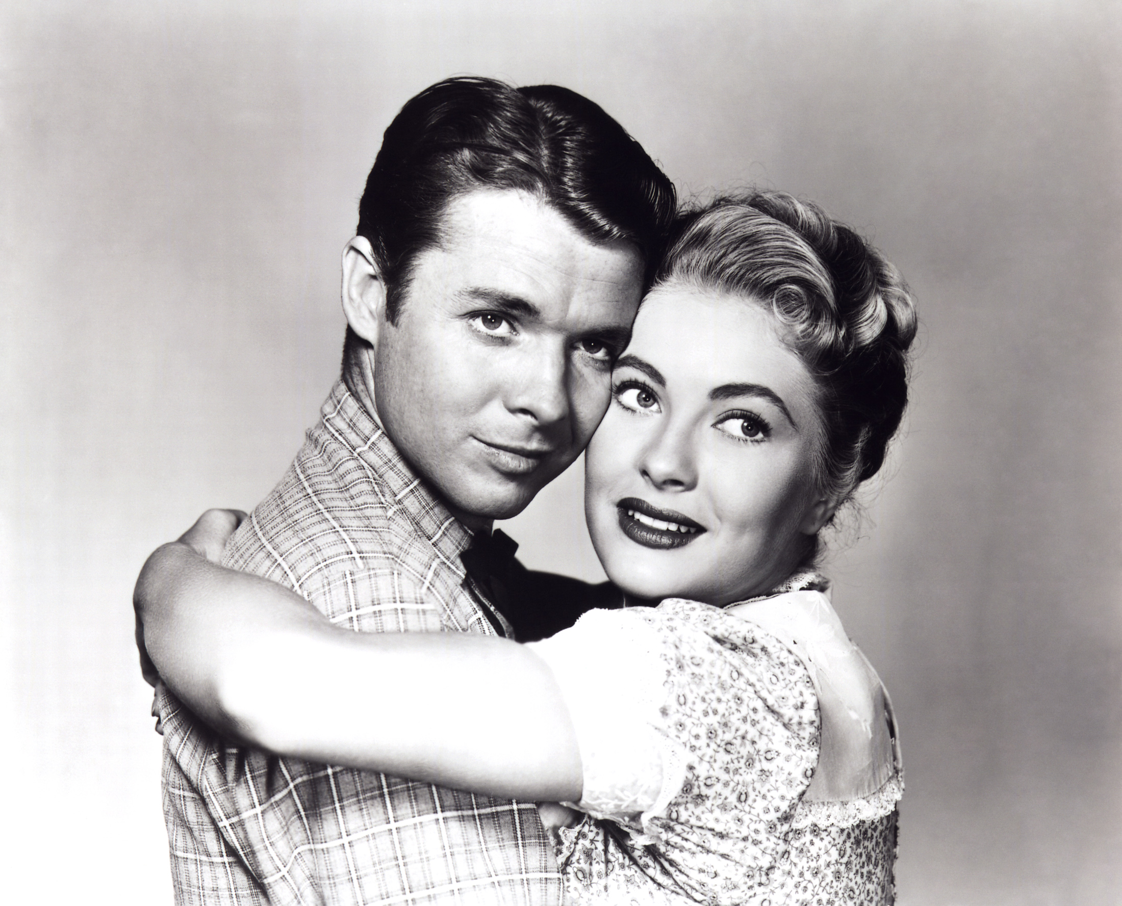 Audie Murphy with Lori Nelson
