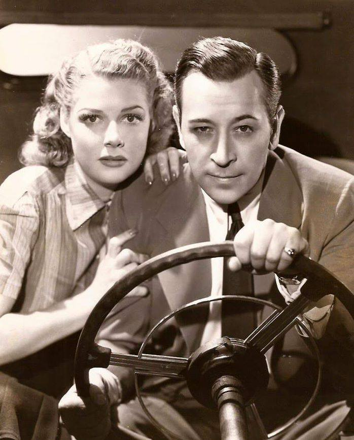 George Raft & Ann Sheridan