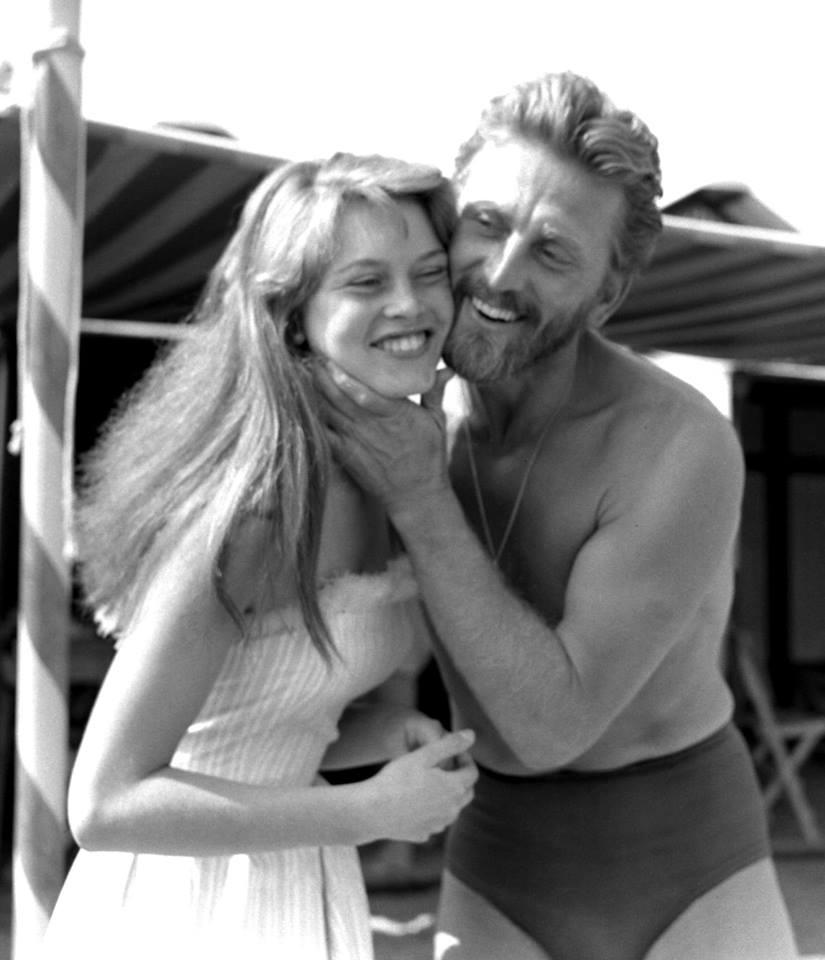 Kirk Douglas & Brigitte Bardot