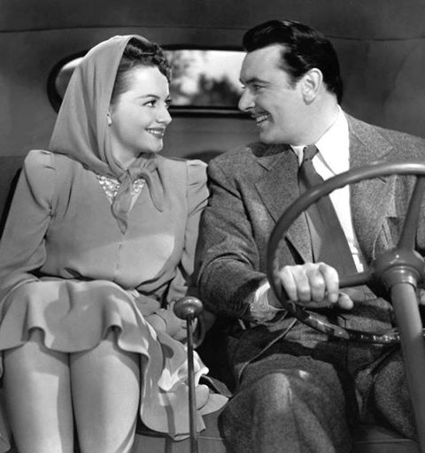GEORGE BRENT & OLIVIA DE HAVILLAND