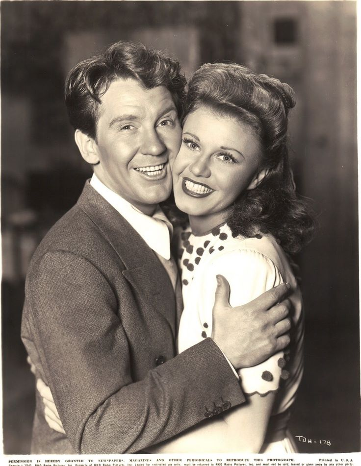Burgess Meredith and Ginger Rogers