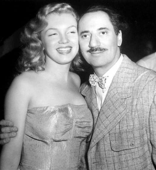 Groucho Marx & Marilyn Monroe