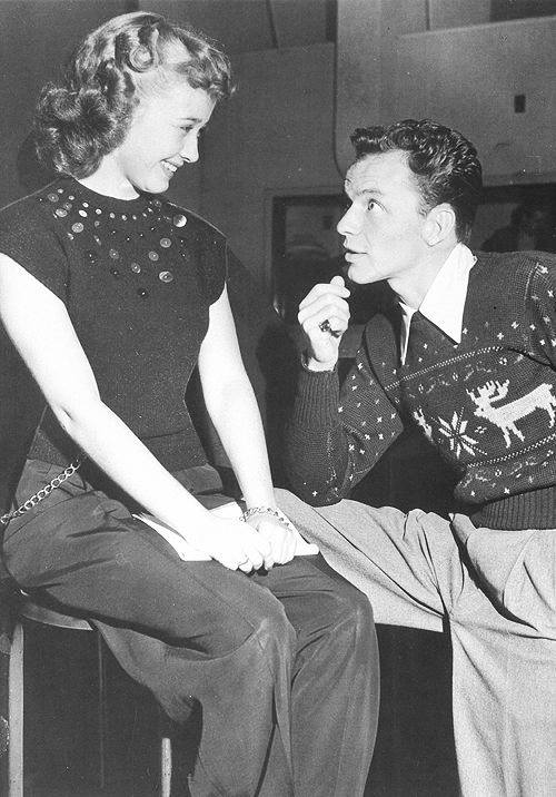 Jane Powell & Frank Sinatra
