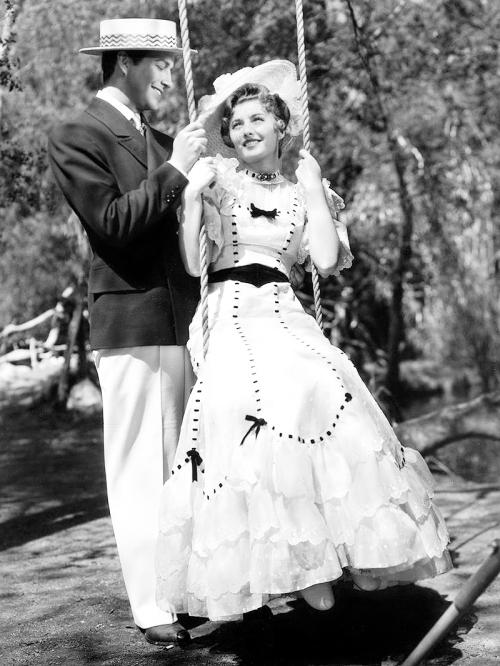 Robert Taylor & Barbara Stanwyck