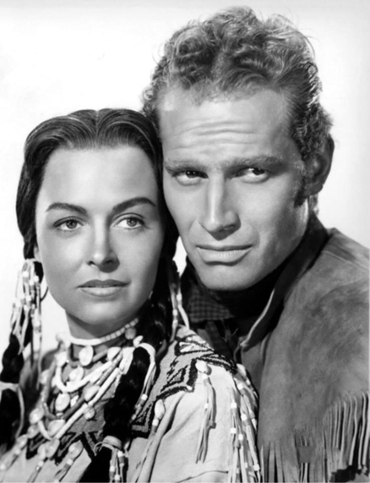 Charlton Heston & Donna Reed
