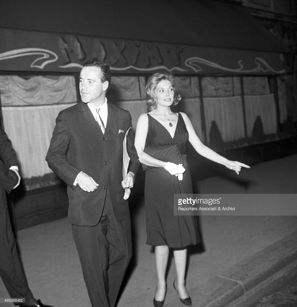 Jack Lemmon And Felicia Farr
