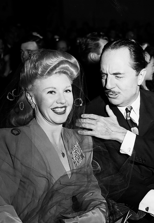 Ginger Rogers & William Powell