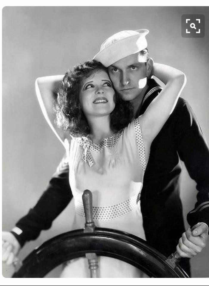 Clara Bow and Fredrick March