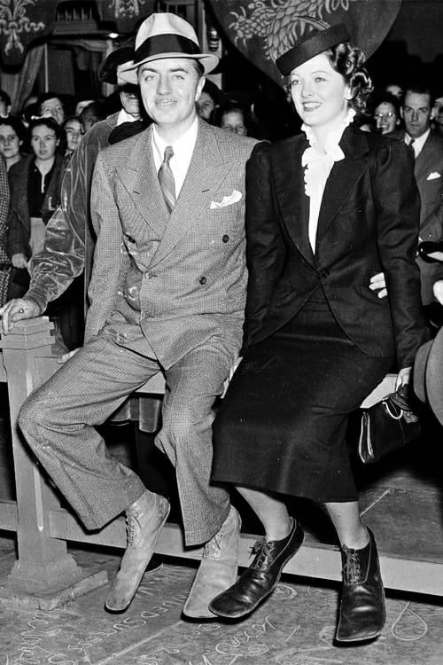 81 years ago today. William Powell and Myrna Loy put their prints in cement at Graumans Chinese Theater. October 20th , 1936.