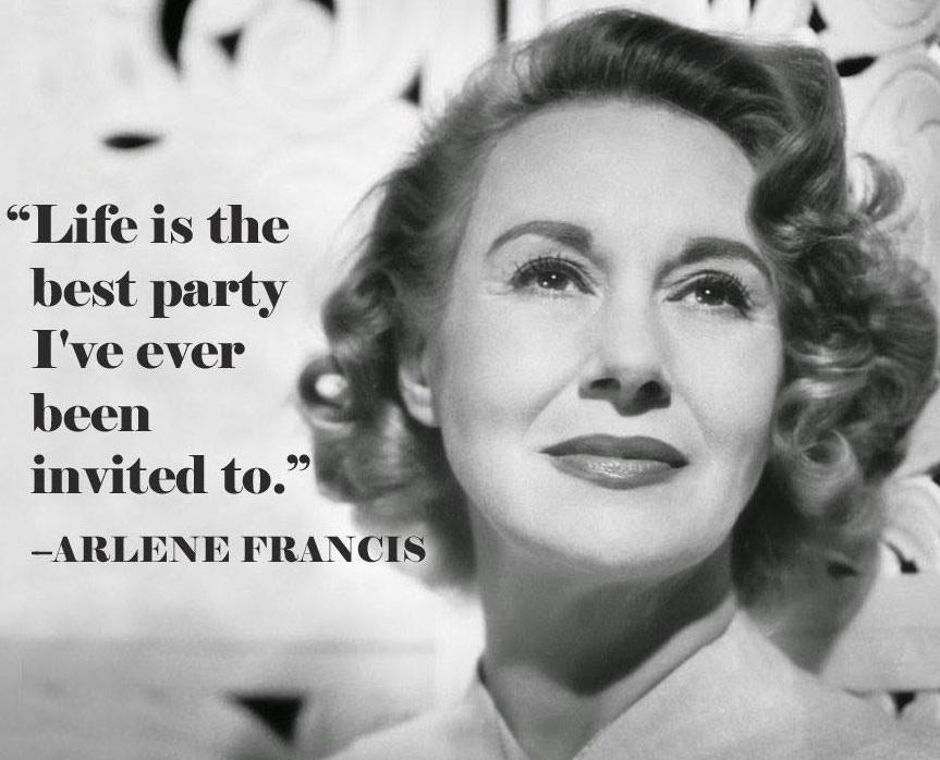 Arlene Francis!