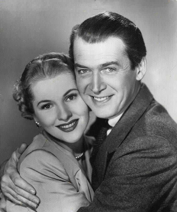 James Stewart & Joan Fontaine