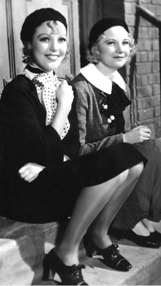 Loretta young and una Merkel
