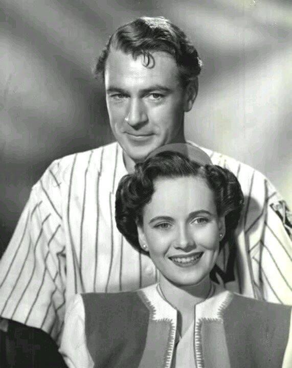 Gary Cooper & Teresa Wright