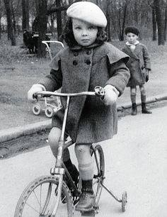 Young Leslie Caron