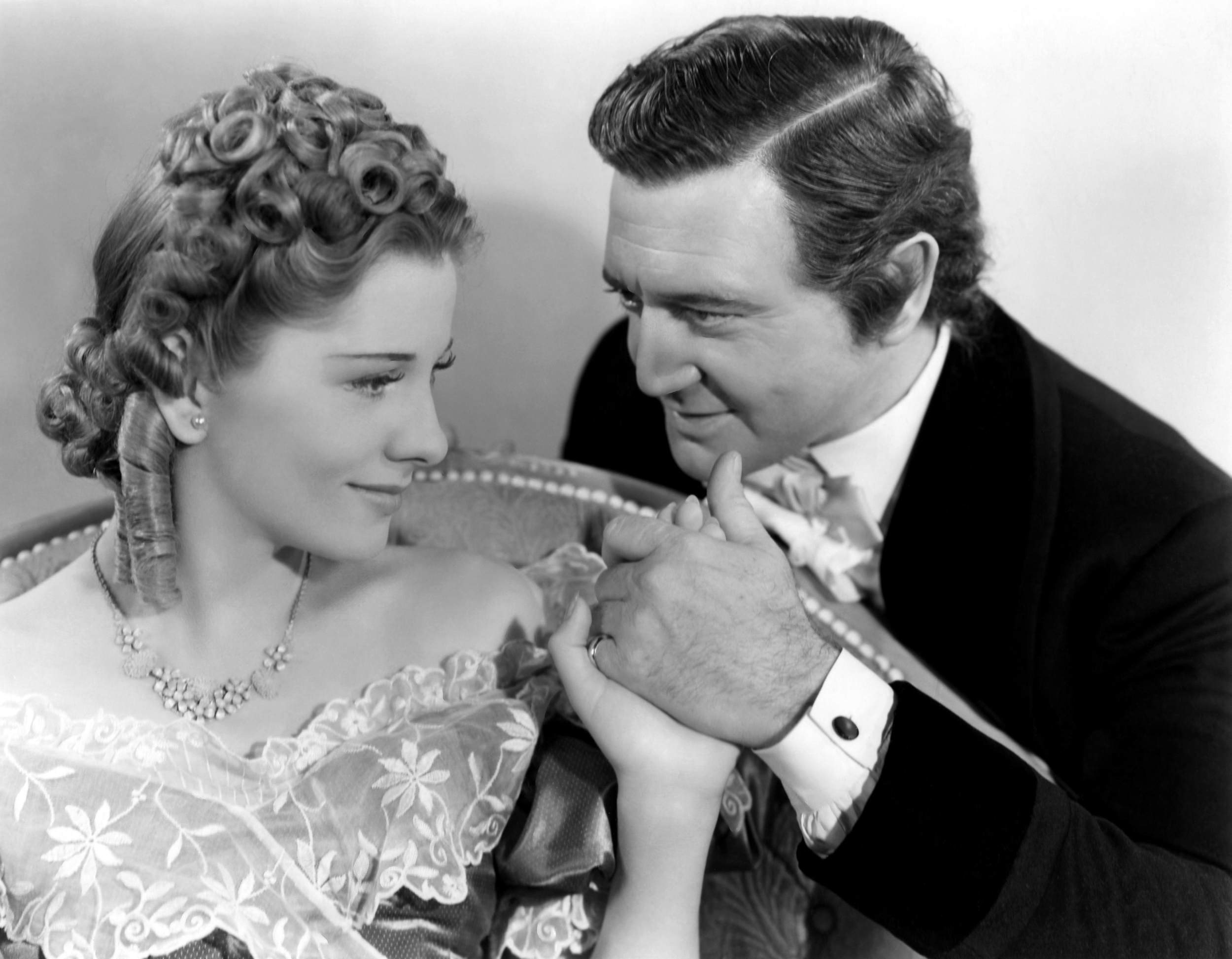 Richard Dix with Joan Fontaine.