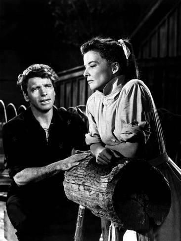 Burt Lancaster & Katharine Hepburn