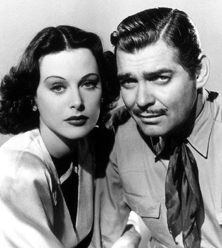 Clark Gable & Edy Lamarr