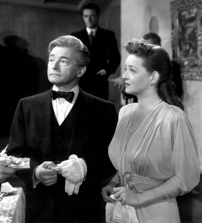 Claude Rains & Bette Davis