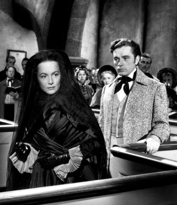 Richard Burton & Olivia de Havilland
