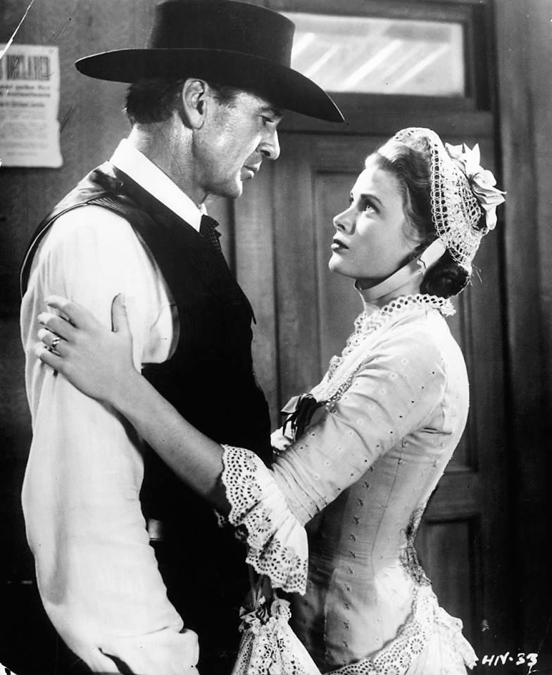 Gary Cooper & Grace Kelly