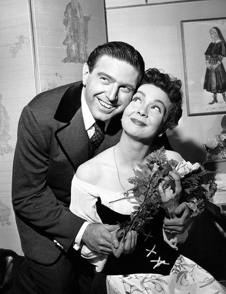 Mary Martin and Theodore Bikel
