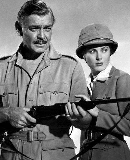 Clark Gable & Grace Kelly