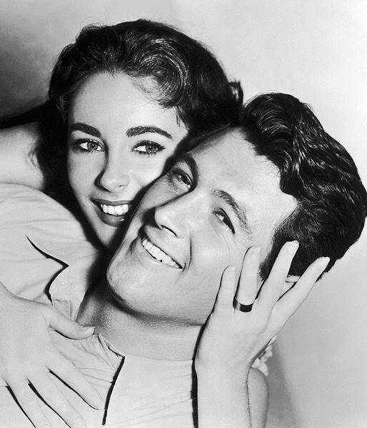 Rock Hudson & Elizabeth Taylor