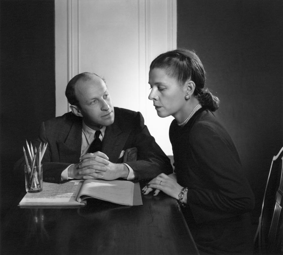 Ruth Gordon with his wife Ruth Gordon
