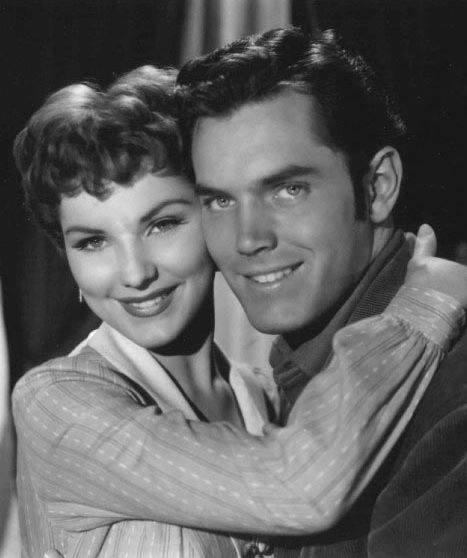 Jeffrey Hunter & Debra Paget