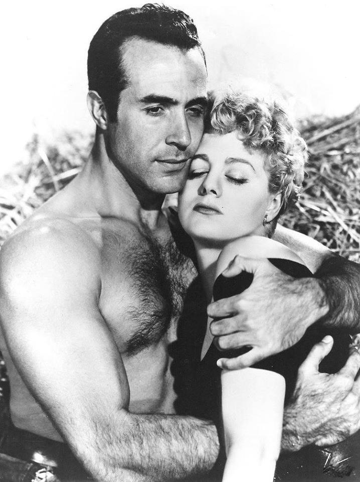 Ricardo Montalban & Shelley Winters