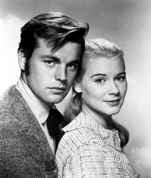 Robert Wagner & Hope Lange