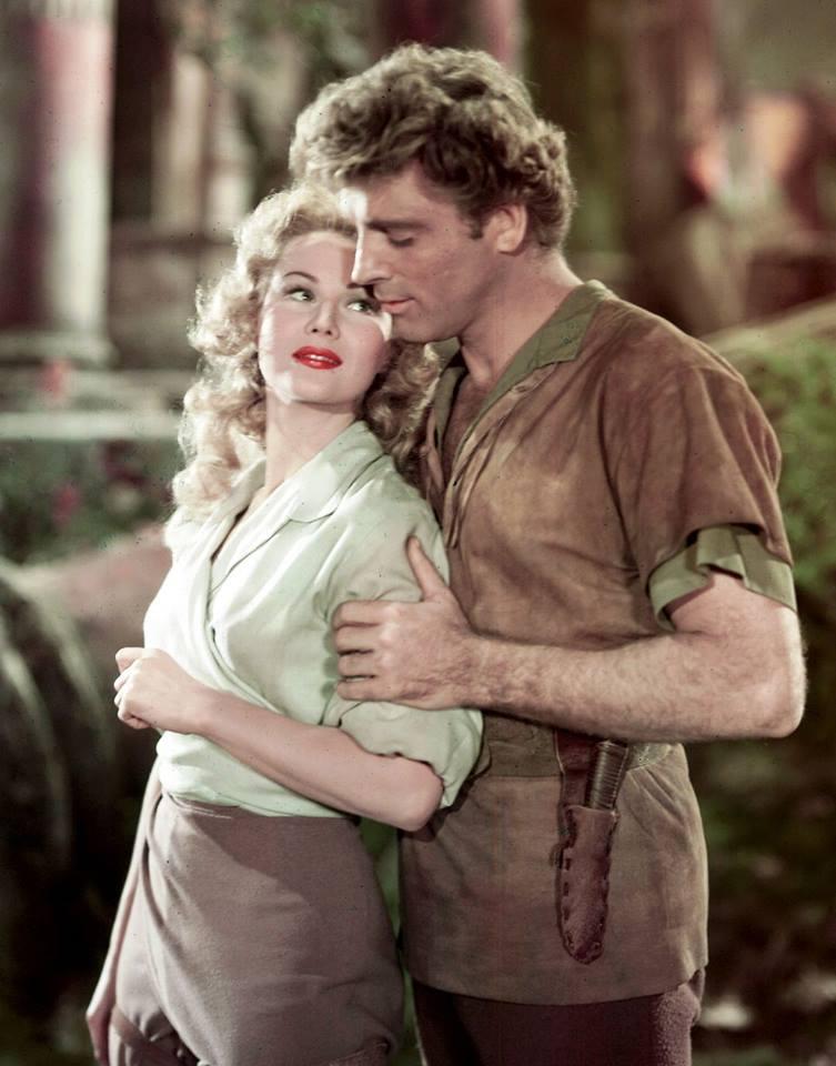 Burt Lancaster & Virginia Mayo