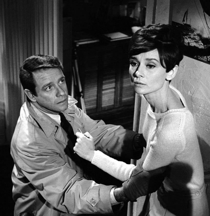 Richard Crenna & Audrey Hepburn
