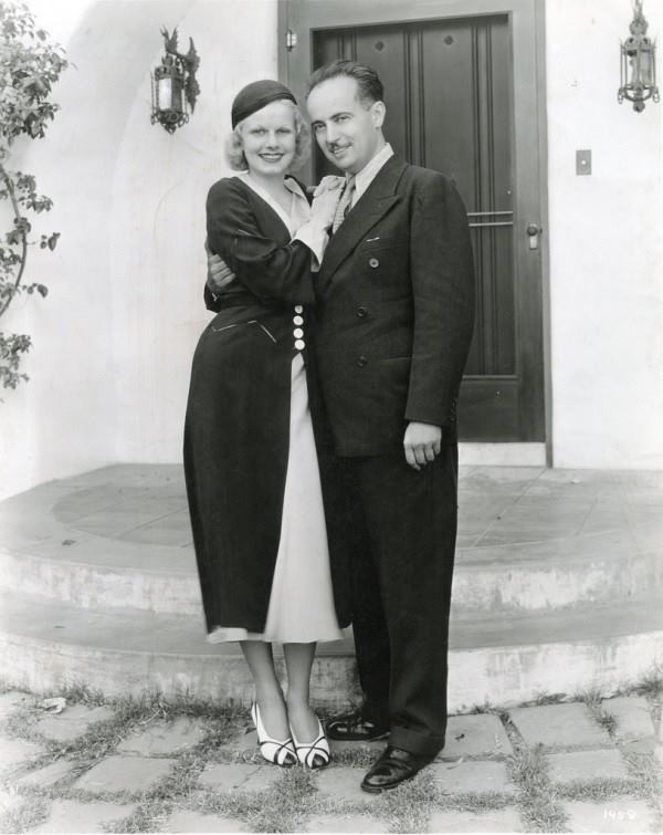 Happy Birthday to Paul Bern! Here he is with wife Jean Harlow.