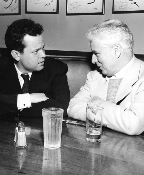 Orson Welles & Charlie Chaplin
