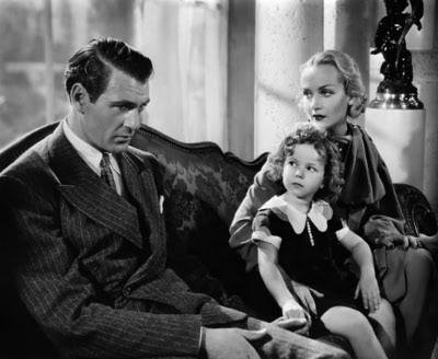 Gary Cooper,Shirley Temple & Carole Lombard