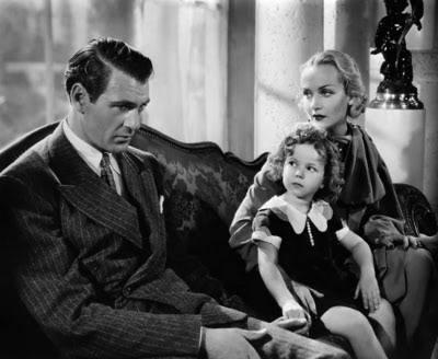 Gary Cooper,Shirley Temple & Carole Lombard