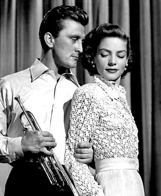 Kirk Douglas & Lauren Bacall