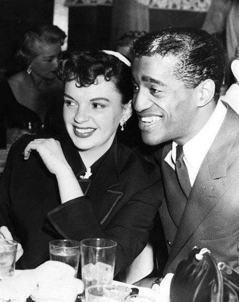 Sammy Davis Jr. with Judy Garland