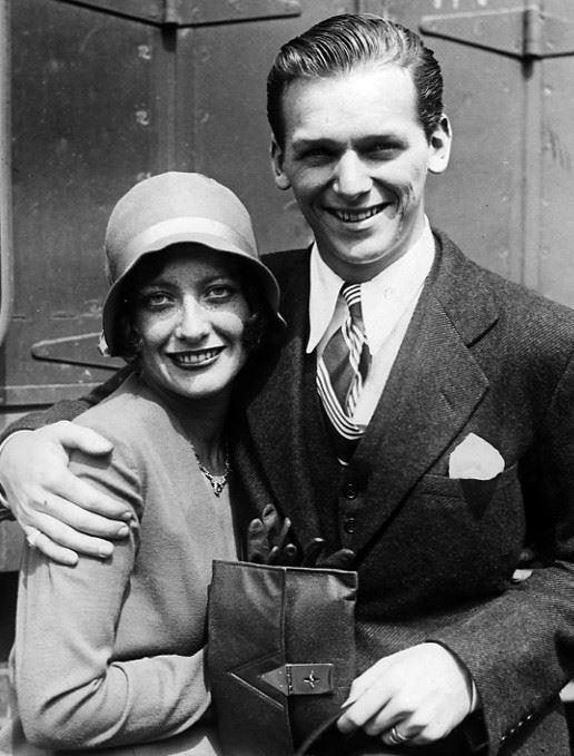 Douglas Fairbanks Jr. with Joan Crawford